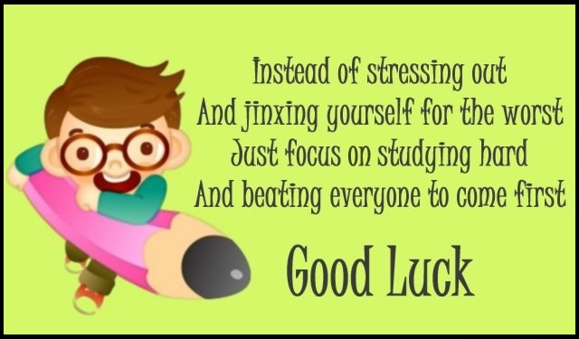 Good Luck On Your Exam Quotes: DP For Whatsapp HD Wallpaper
