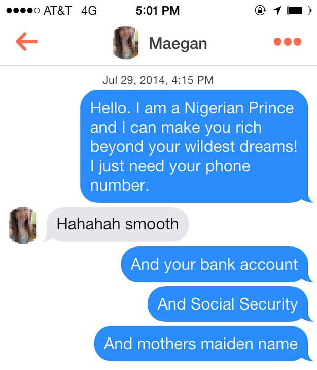 Online dating icebreakers
