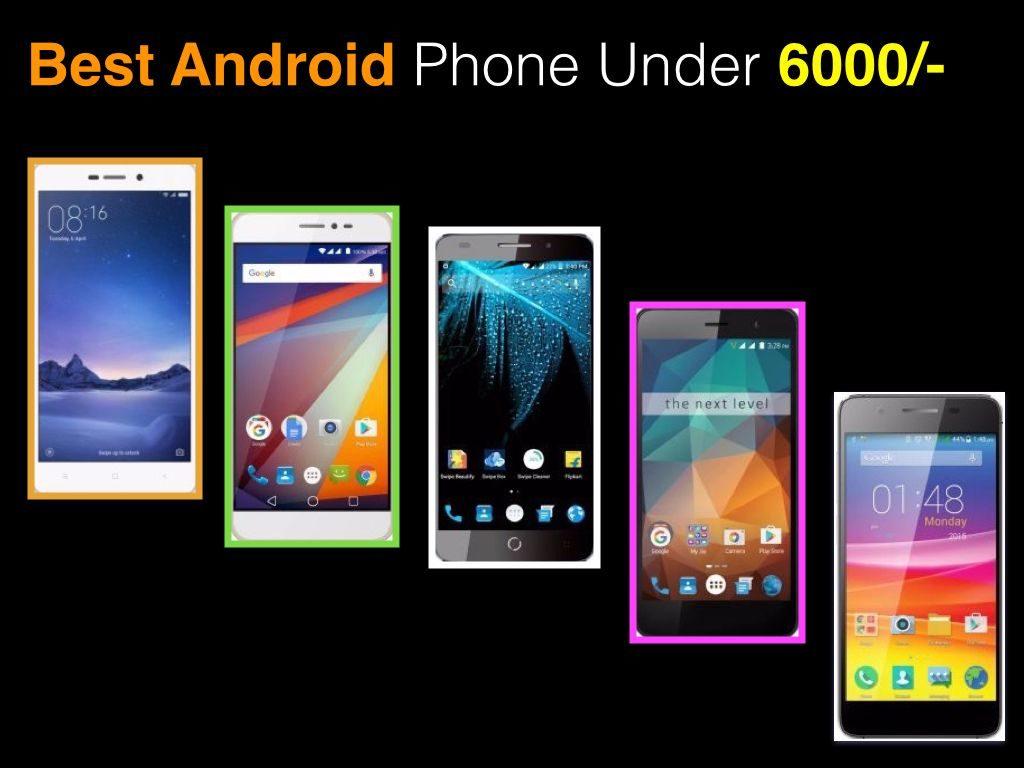 phone under 6000