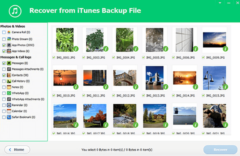 Extract Data From iTunes