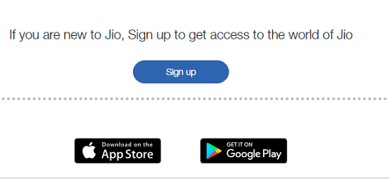 Download MY Jio App