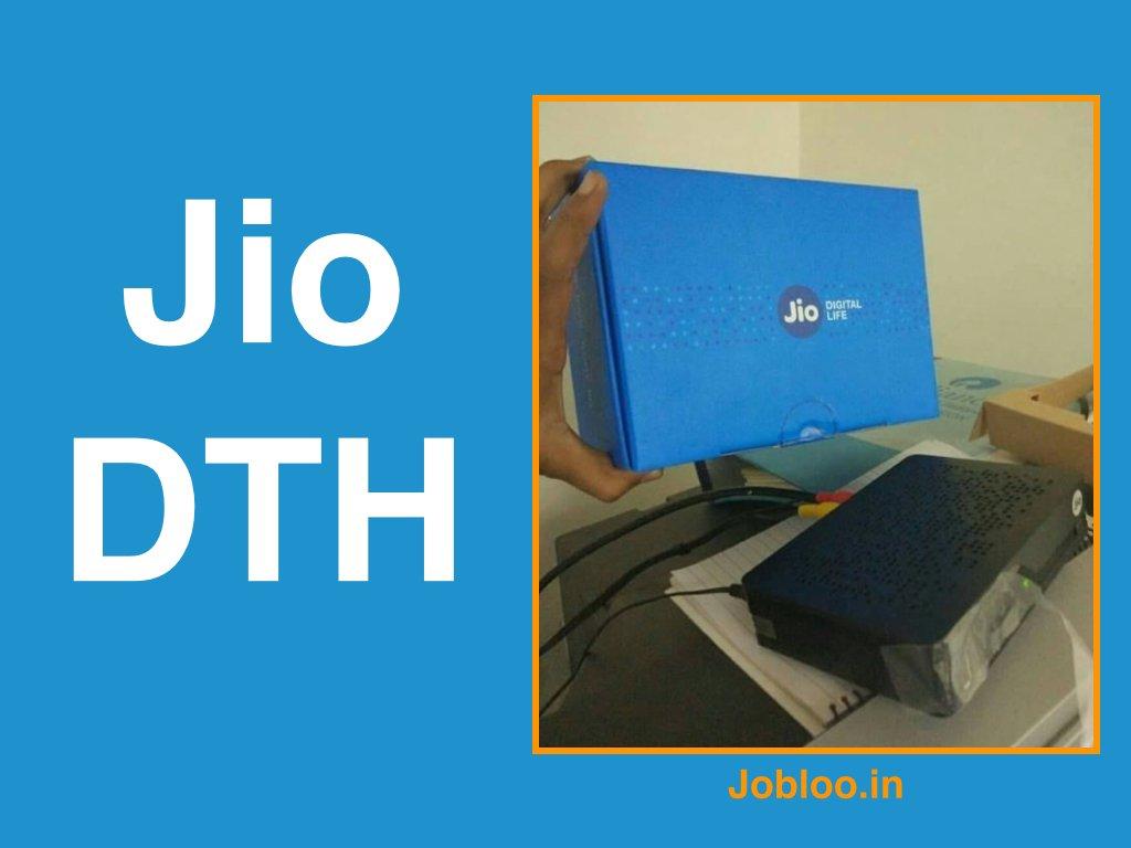 Jio DTH Booking Online