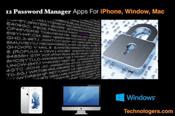 best password manager iphone 12 best free password apps for iphone mac amp window in 2018 13642