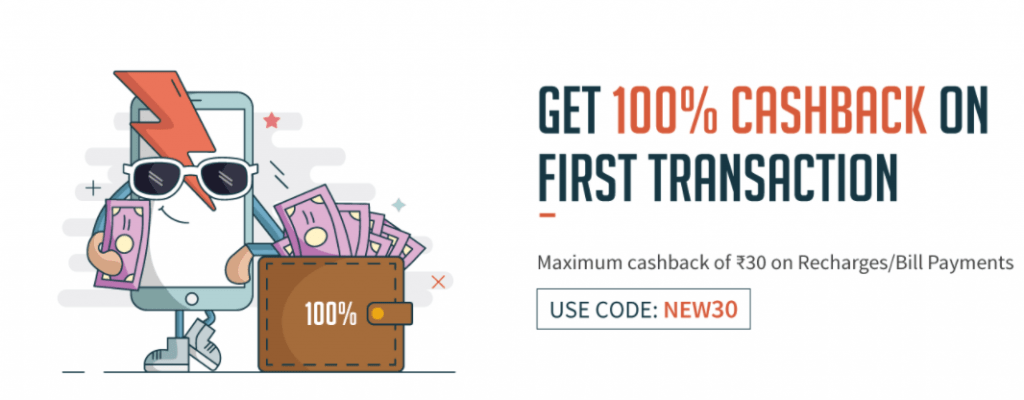 Freecharge coupons for broadband bill payment