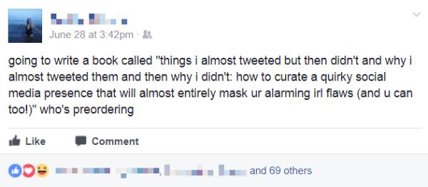 Funny Facebook Status Clever Status Facebook Status Updates
