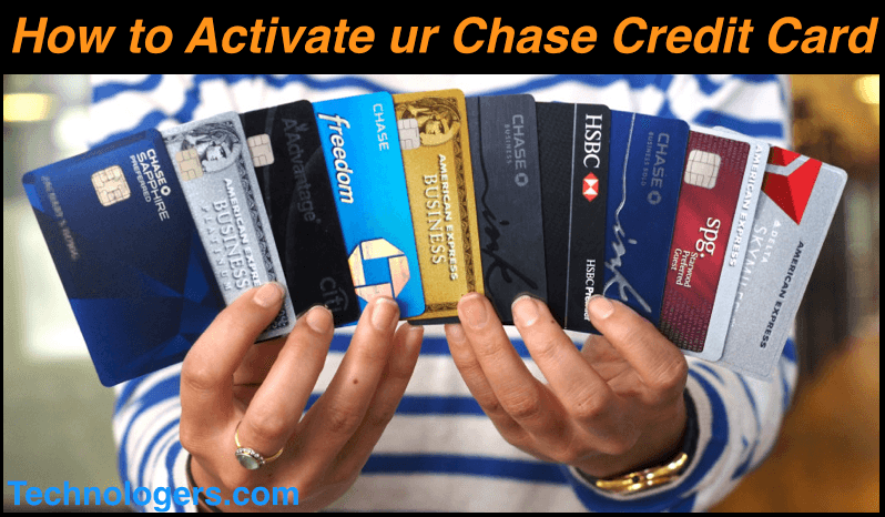 Activate My Chase Credit Card