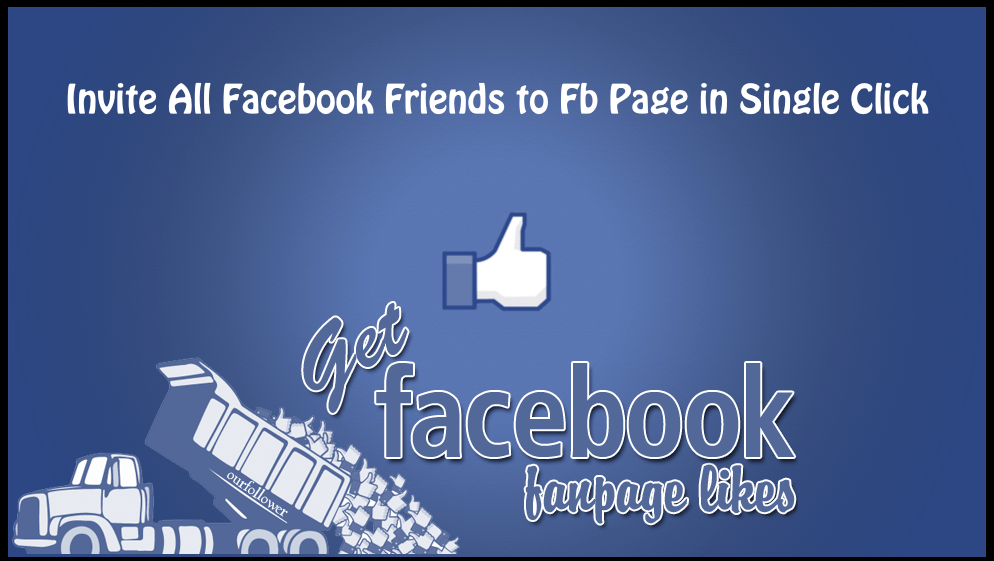 Invite All Facebook Friends to Fb Page