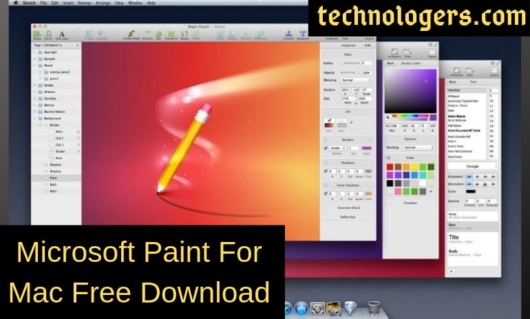 Ms Paint Download For Mac Free